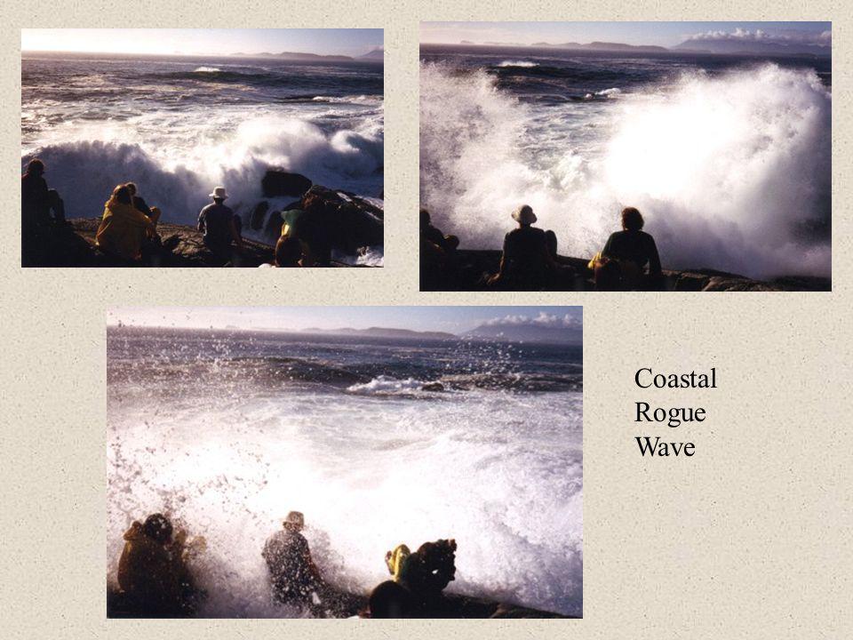 Coastal Rogue Wave