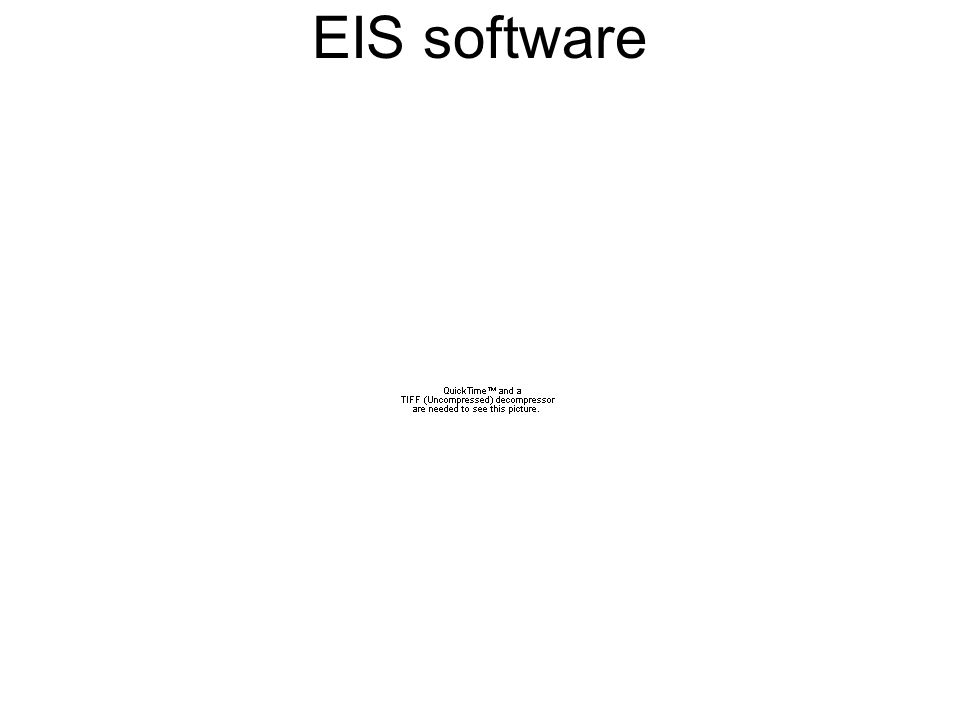 EIS software