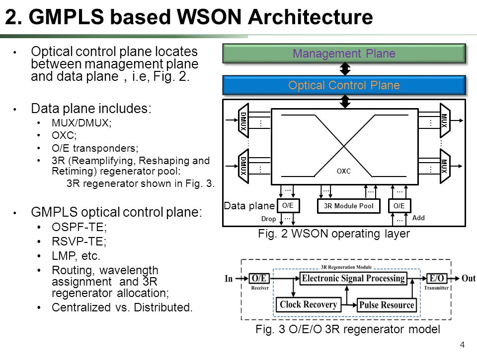 5 Fig.5 Centralized control plane Advantages: Simple; No conflict.
