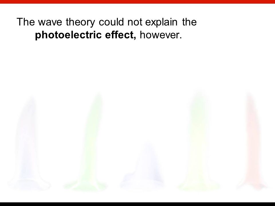 One property of waves is that they can be diffracted—that is, they spread out when they encounter an obstacle about the size of the wavelength. In 180