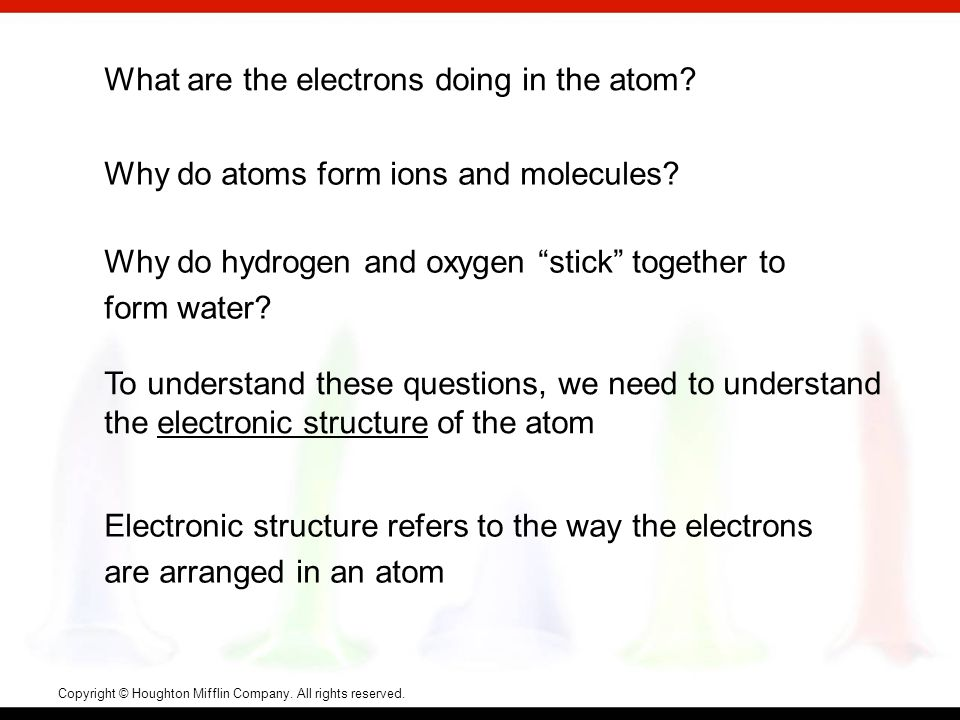 Electron transitions for an electron in the hydrogen atom.