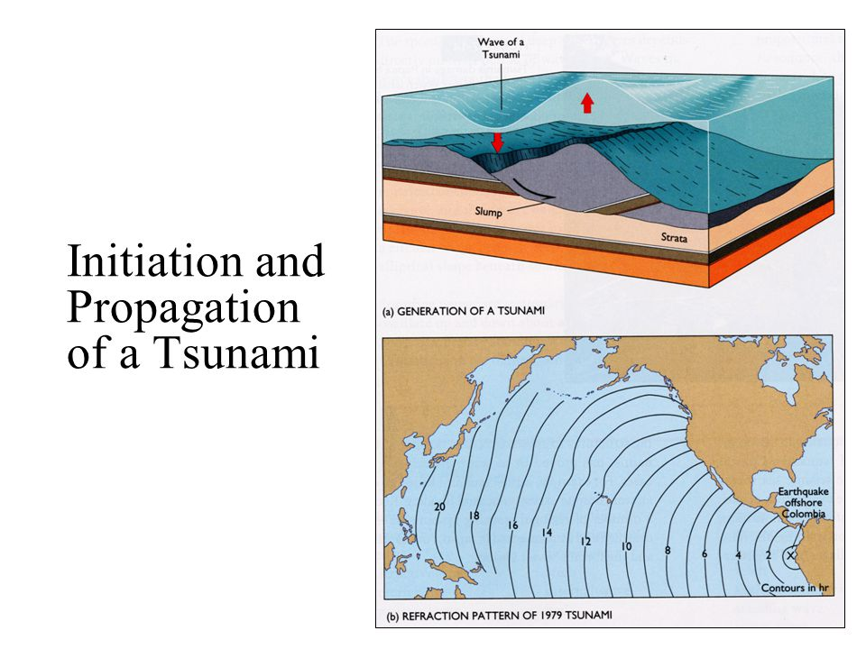 Initiation and Propagation of a Tsunami