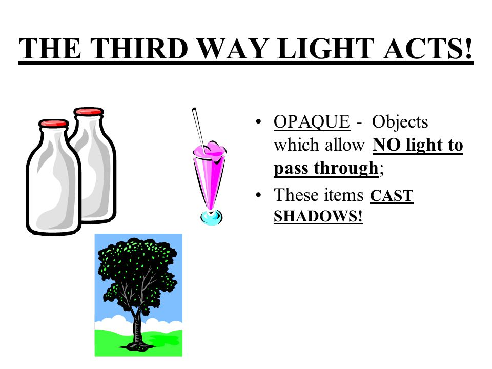 THE THIRD WAY LIGHT ACTS.