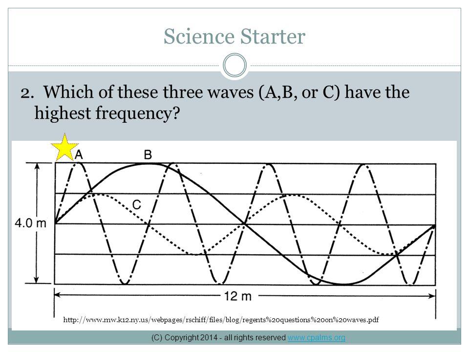 Science Starter 3.