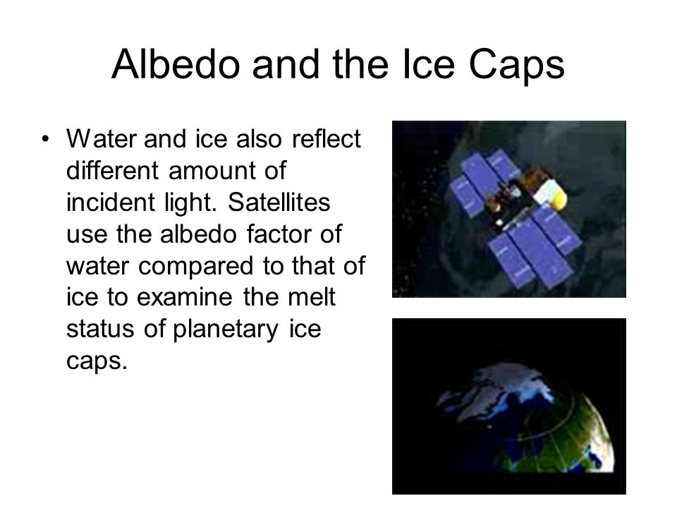Planetary Albedo is Effected by Atmospheric and Environmental Status