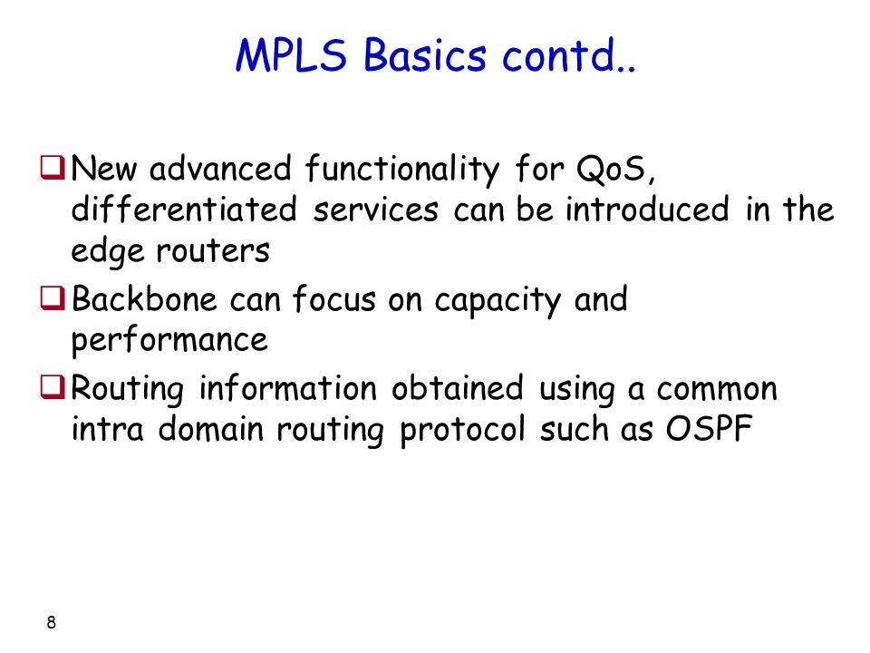 8 MPLS Basics contd..