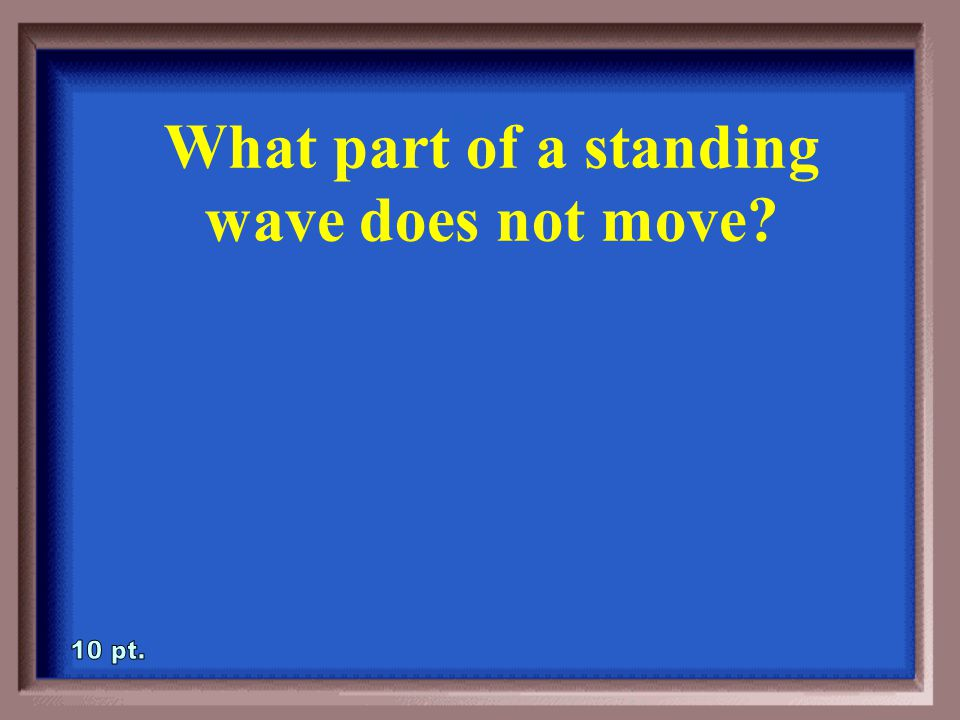 3-5A Draw a standing wave