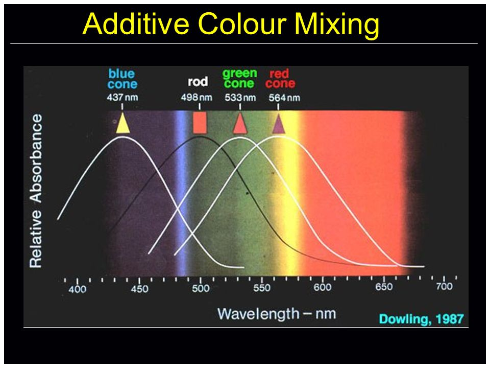 Additive Colour Mixing