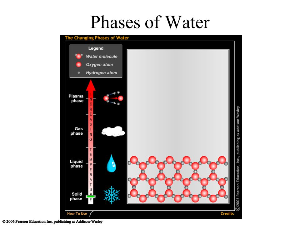 Phases of Water
