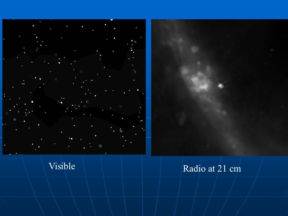 Visible Radio at 21 cm