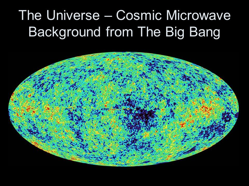 The Universe – Cosmic Microwave Background from The Big Bang