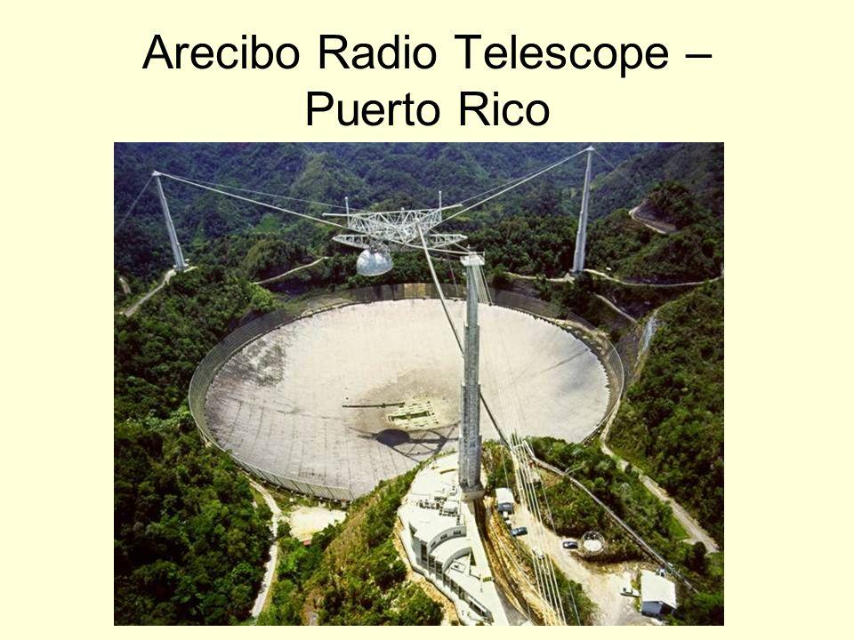 Arecibo Radio Telescope – Puerto Rico