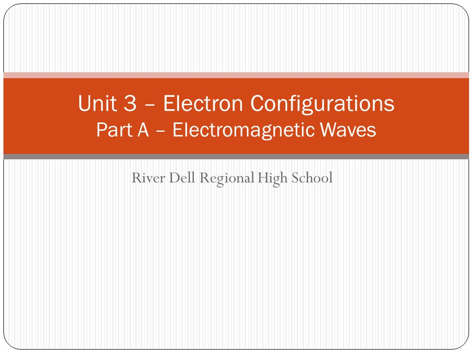 Electromagnetic Waves (Lights) Disturbance in a magnetic field is perpendicular to a disturbance in an electric field.
