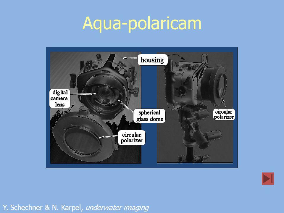Aqua-polaricam Y. Schechner & N. Karpel, underwater imaging