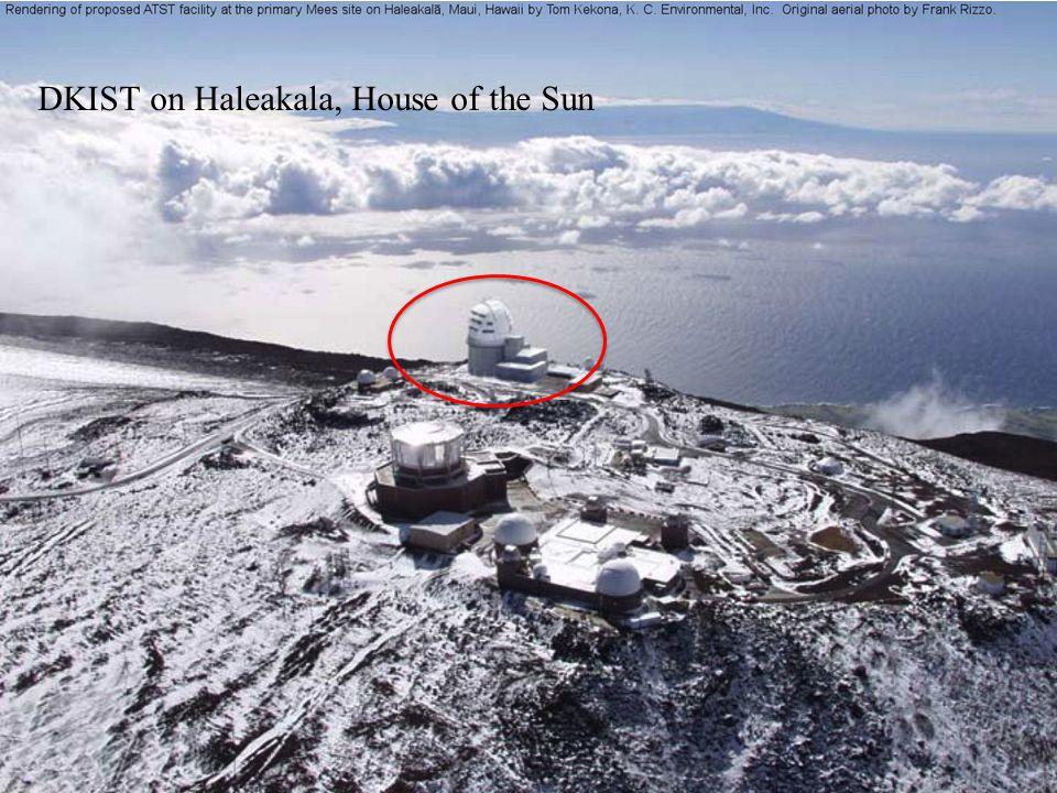 DKIST on Haleakala, House of the Sun