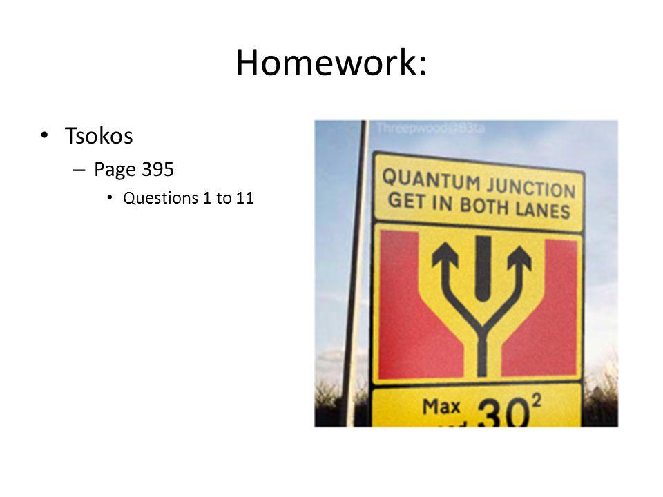 Homework: Tsokos – Page 395 Questions 1 to 11