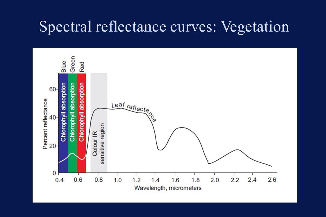 Spectral reflectance curves: Vegetation