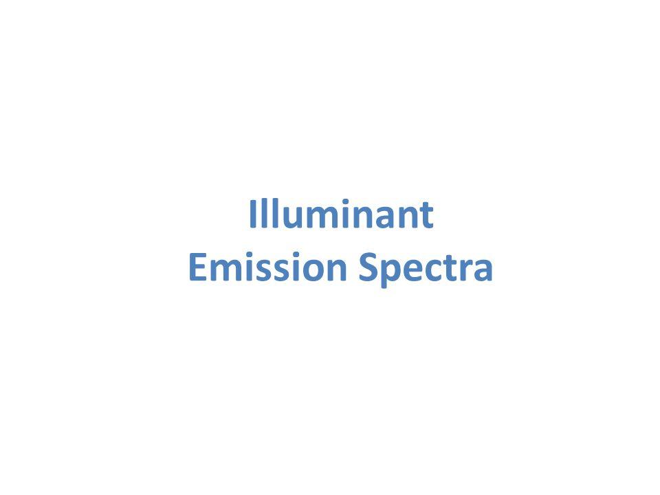 Illuminant Emission Spectra