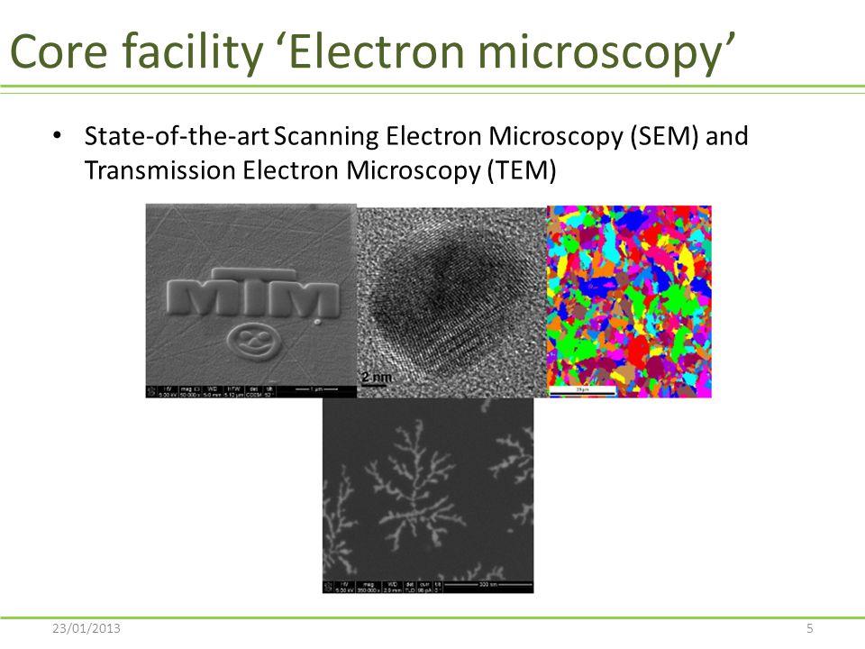 TRANSMISSION ELECTRON MICROSCOPY (TEM) 23/01/201326