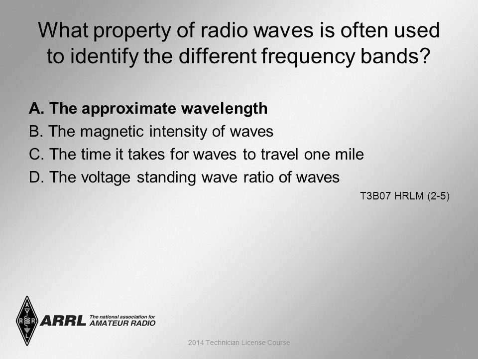 A. The approximate wavelength B. The magnetic intensity of waves C.