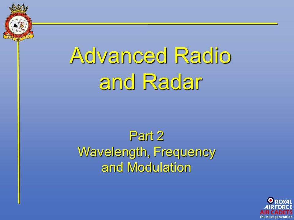 Modulation This carrier wave is a continuous high radio-frequency (RF) current, having a fixed frequency from the range 100 KHz to 1 GHz.