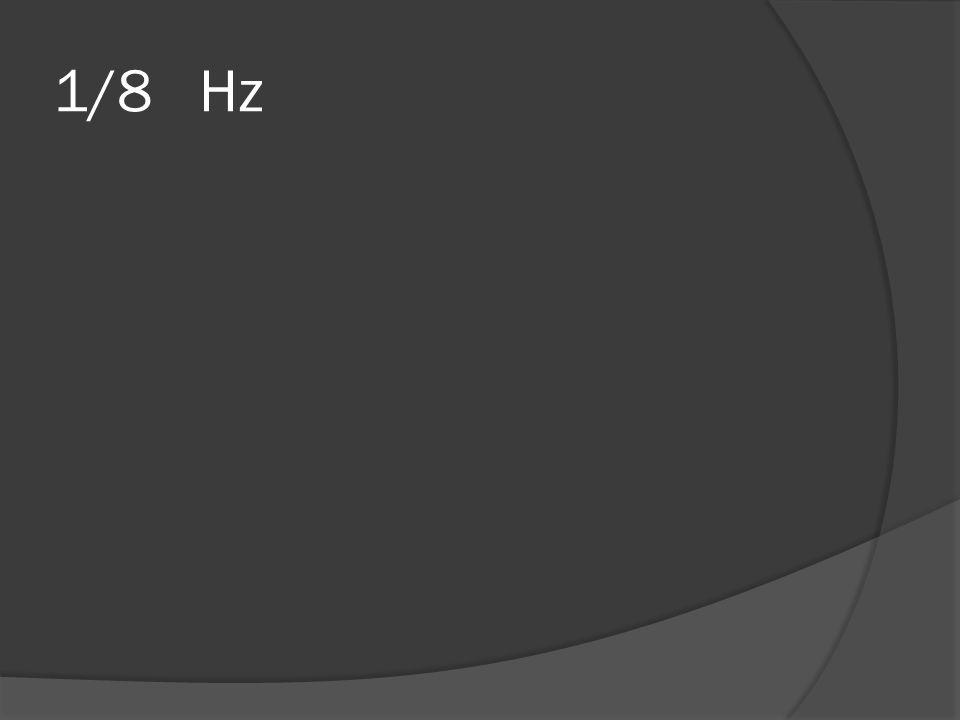 1/8 Hz
