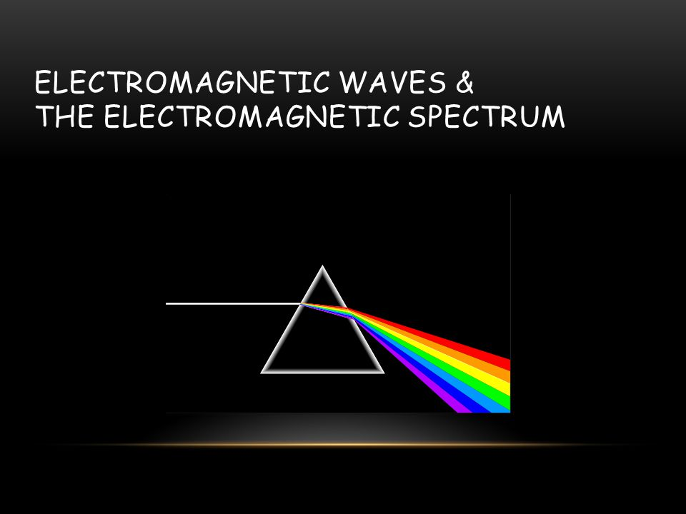 SPECTRUM The pattern light produces when passed through a prism or spectrograph Prism – 3 dimensional object that refracts light.