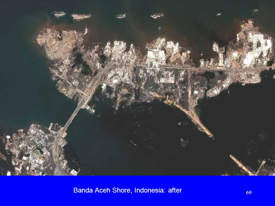 Banda Aceh Shore, Indonesia: after 69
