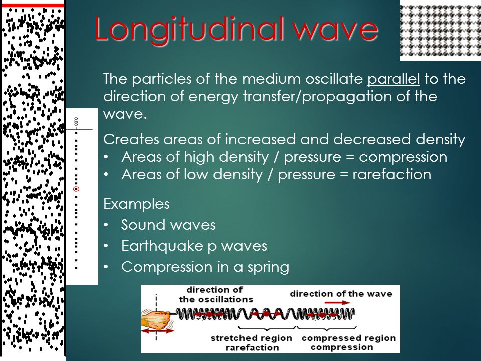 Wavelength (λ)  The length of one complete wave cycle of a wave  measured in meters Phase Two points on a wave that occur in the same position within the wave cycle – that is, they are one or more whole wavelengths apart -- are said to in phase.