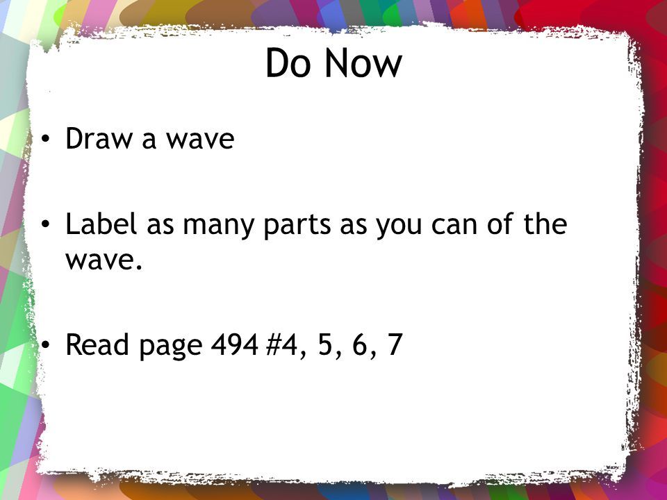 How can you calculate the speed of a wave.