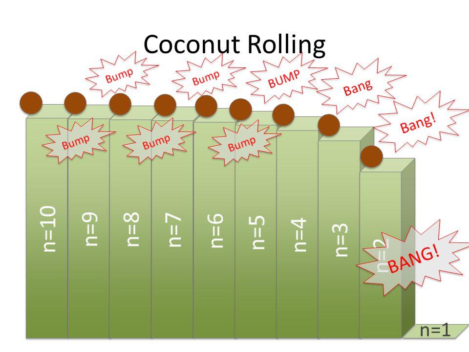 Coconut Rolling n=1
