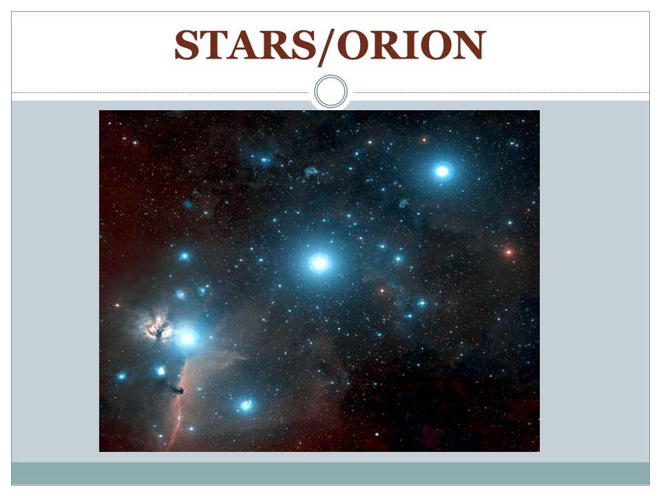 STARS/ORION