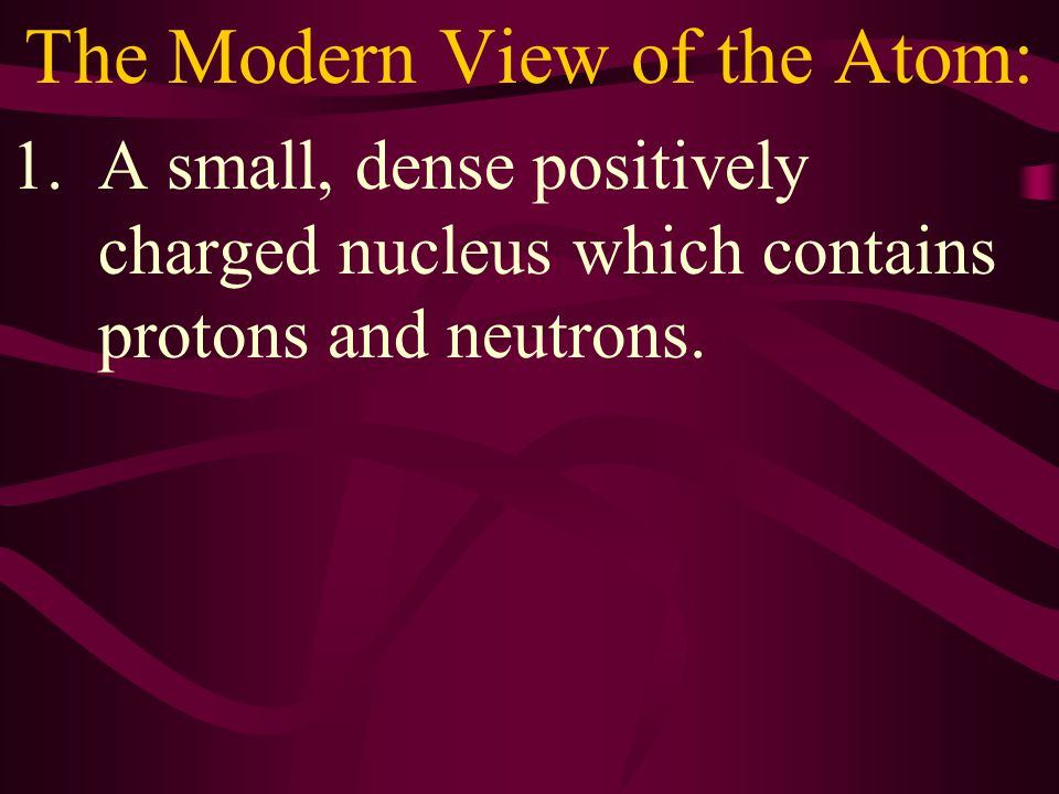 The Arrangement of Electrons in the Quantum Mechanical Model of the Atom