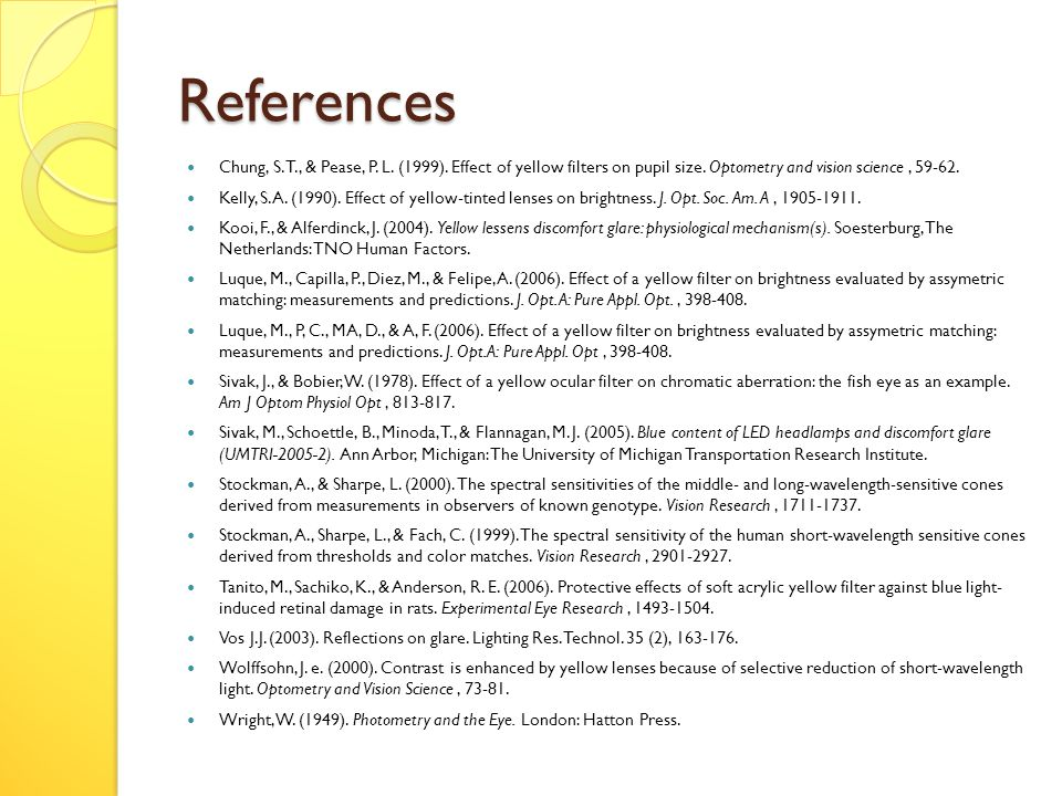 References Chung, S. T., & Pease, P. L. (1999).