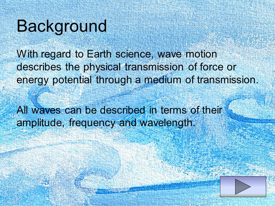Amplitude The term amplitude can have slightly different meanings depending upon the context of the situation.