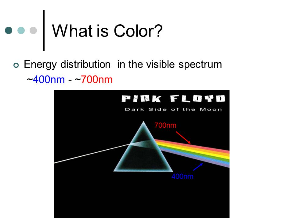 Do objects have color.