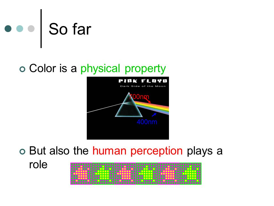 Why is Color Important.In animal vision food vs.