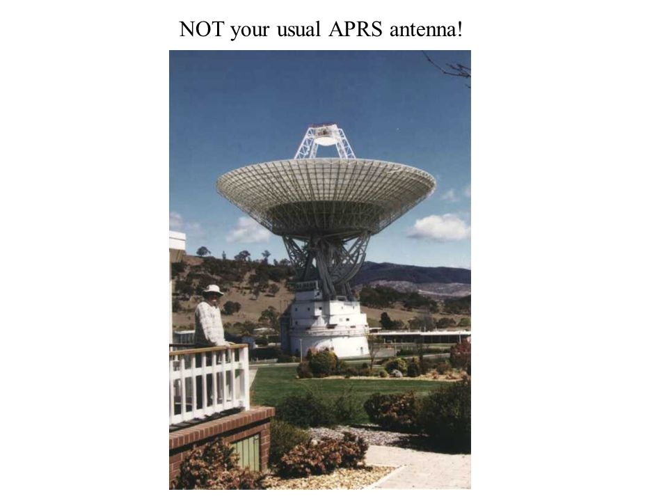 NOT your usual APRS antenna!