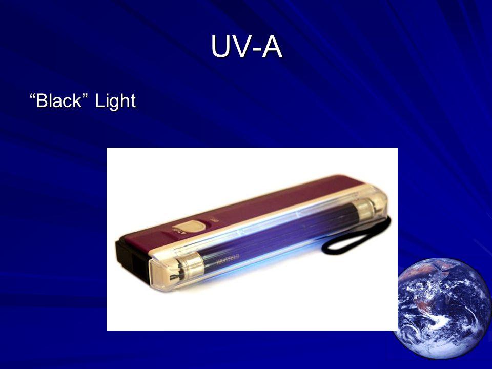 "UV-A ""Black"" Light"