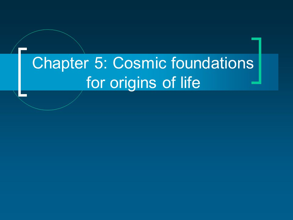 Is life a natural consequence of cosmology.