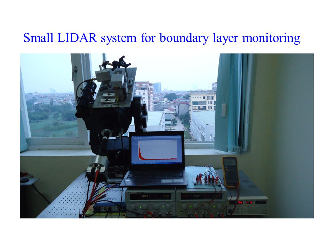 Small LIDAR system for boundary layer monitoring
