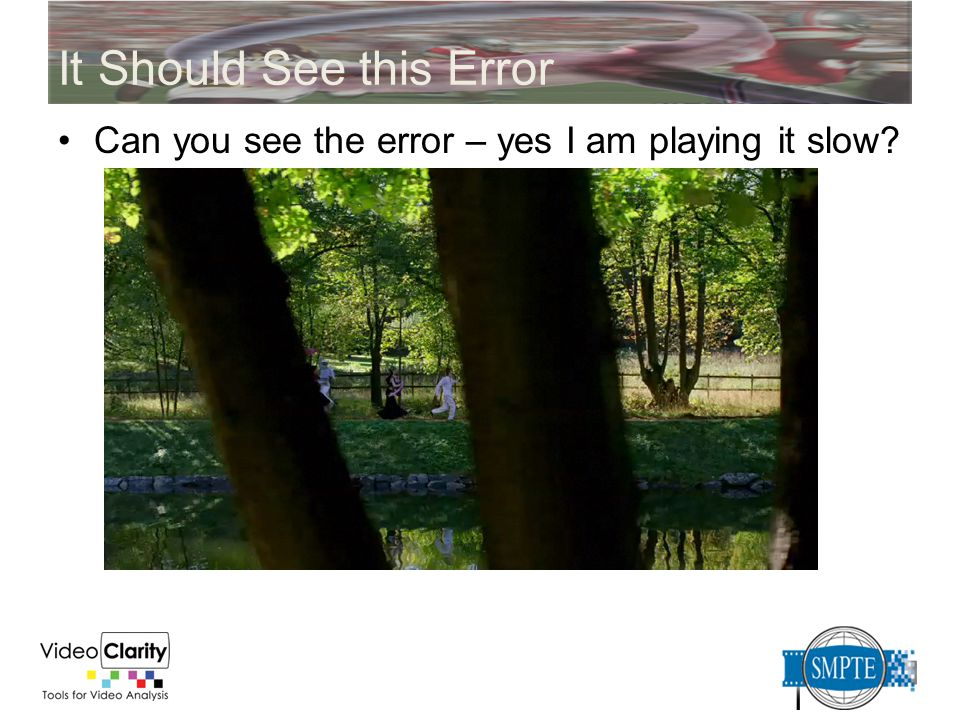 It Should See this Error Can you see the error – yes I am playing it slow?