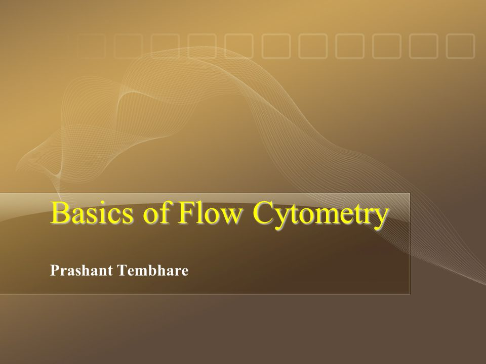 Page  2 Flow Cytometry is the automated measurement of Physical, Chemical and Biological properties of individual cells (Cytometry) or particles flowing in a single stream (Flow) in a fluidic system.
