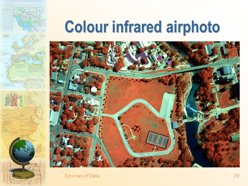 Sources of Data28 Natural colour airphoto
