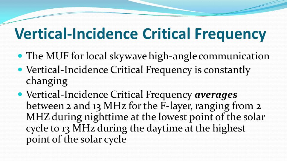 Antennas produce two kinds of radio propagation waves: Skywaves Ground waves