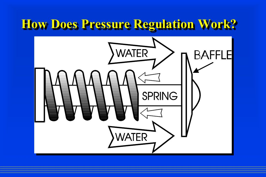 How Does Pressure Regulation Work