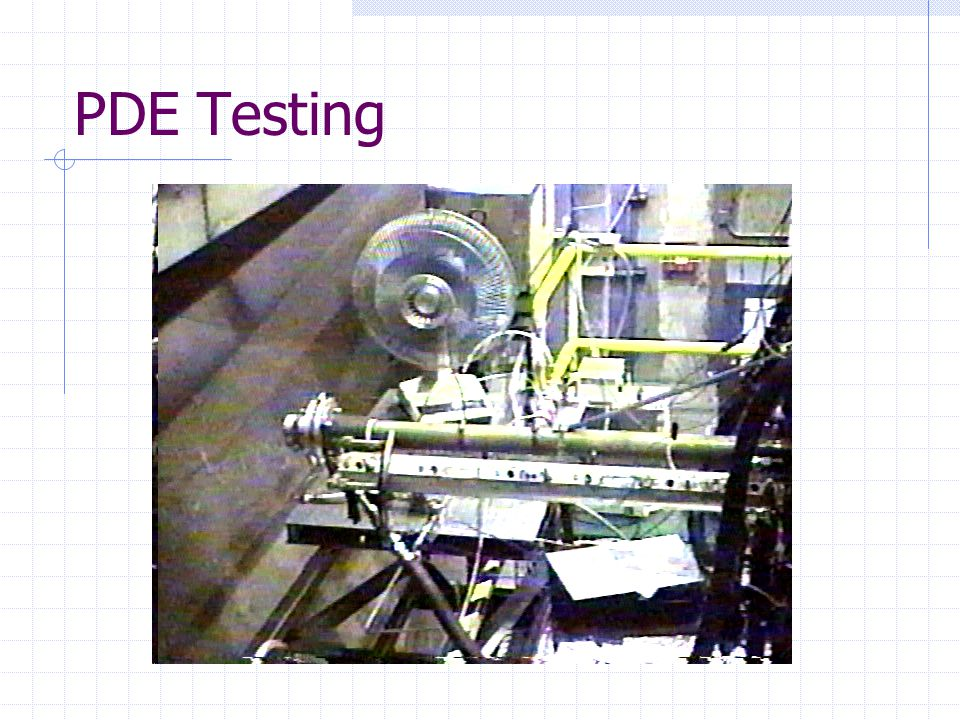 PDE Testing