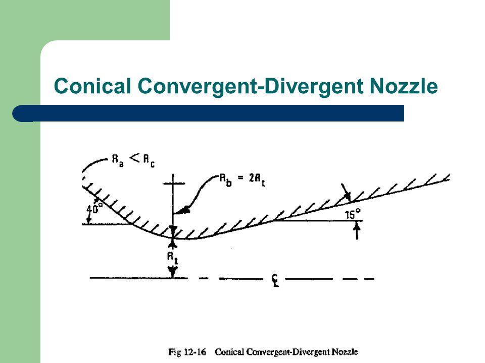 Conical Convergent-Divergent Nozzle