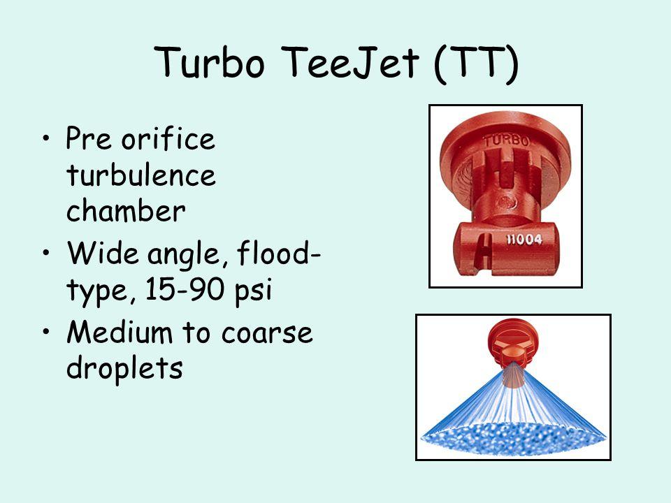 Turbo TeeJet (TT)