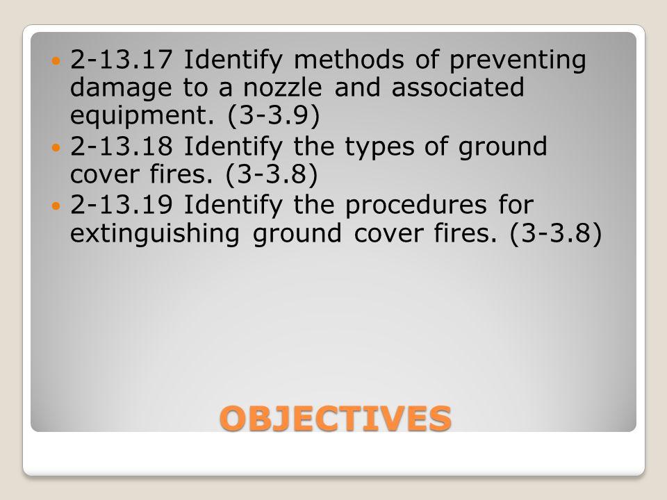 FOG NOZZLE Nozzle control valve ◦Permits regulation of the flow ◦Types:  Ball valve  Slide valve  Rotary control